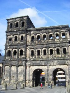 Section of the Porta Nigra, Trier